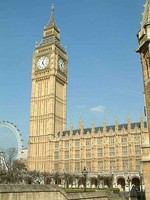 Parliament meets at the Palace of Westminster